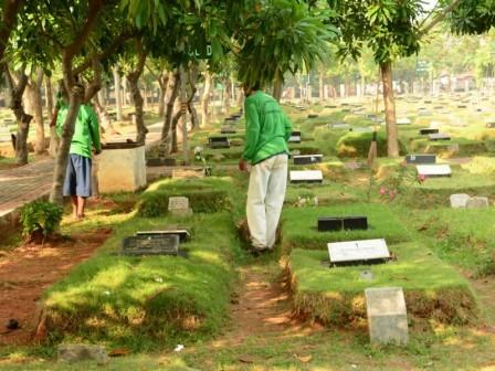 6667 medium hingga bulan september  307 makam fiktif telah dibongkar