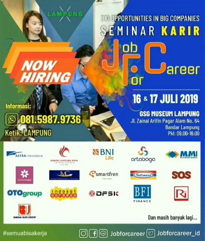 66886 medium %28bursa kerja%29 job for career lampung %e2%80%93 juli 2019