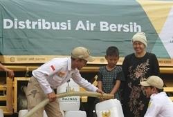 66892 small baznas drop air bersih untuk warga cibarusah