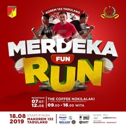 67532 small merdeka fun run 2019 di kota palu