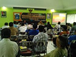 676 small warga tanjung priok ikut pelatihan penanggulangan bencana