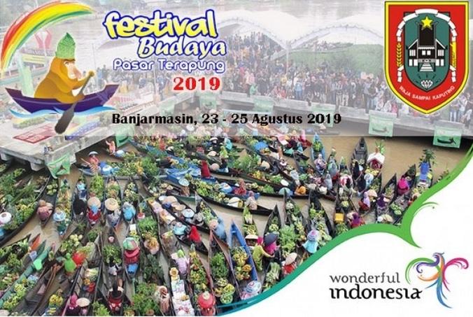 67732 medium festival pasar terapung 2019 banjarmasin