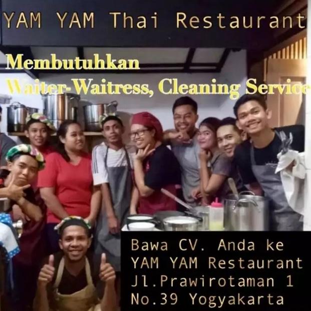 67844 medium %28lowongan kerja%29 dibutuhkan cepat waiterwaitress dan cleaning service di yam yam restaurant yogyakarta %28walk in interview  wawancara langsung%29