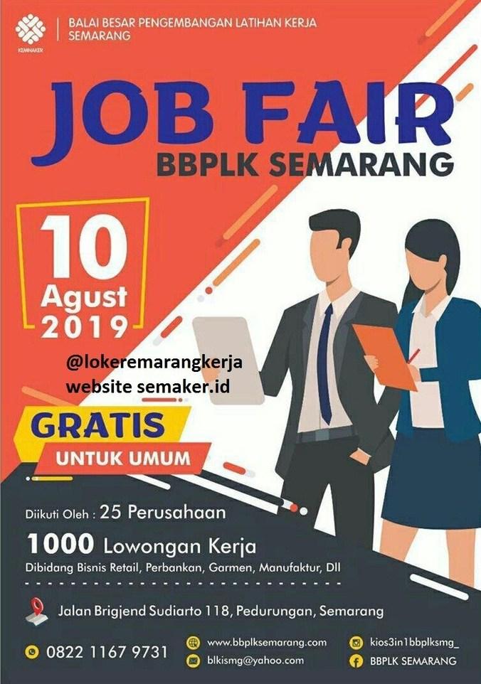 69068 medium job fair bbplk semarang %e2%80%93 agustus 2019