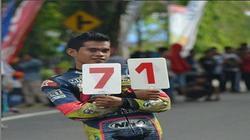 70400 small pembalap asal sulteng meninggal dunia