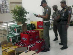 720 small 830 botol miras disita dari apartemen gading nias
