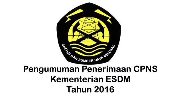 7245 medium lowongan cpns kementerian esdm formasi pendaftaran
