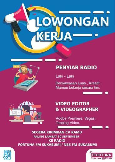 Penyiar Radio Dan Videographer Atmago