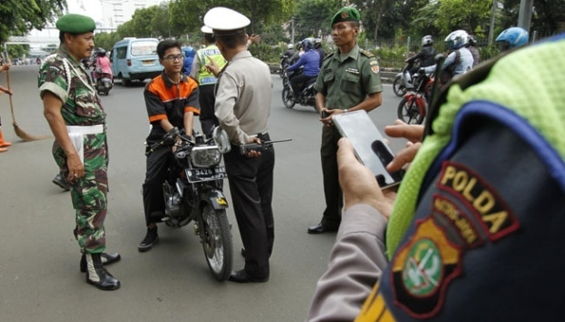 7569 medium pelanggaran lalu lintas meningkat 36 persen