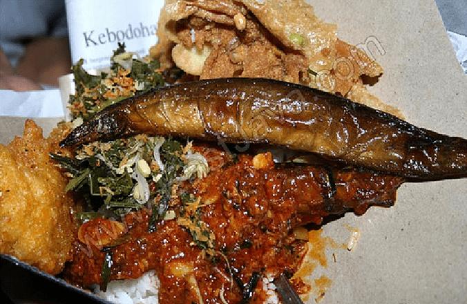 75 medium nasi boronan khas lamongan