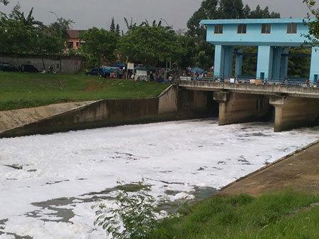 7630 medium air di kbt tercemar limbah
