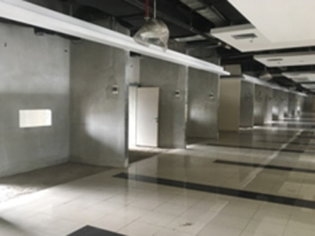 7847 medium 150 kios di terminal pulogebang masih kosong