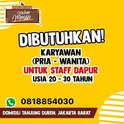Lowongan Kerja Loker Terbaru Di Grogol Petamburan Jakarta Barat Atmago