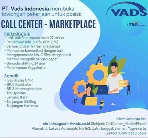 Lowongan Kerja Call Center Marketplace Indah Pratiwi Di Sleman 2 Jan 2020 Loker Atmago Warga Bantu Warga
