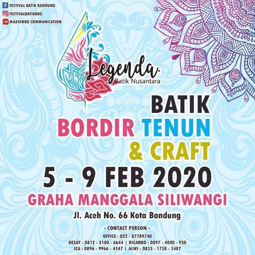 Legenda Batik Nusantara 2020 Wiwin Anastasia Di Bandung Kota 6
