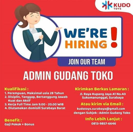 Lowongan Kerja Admin Surabaya Barat