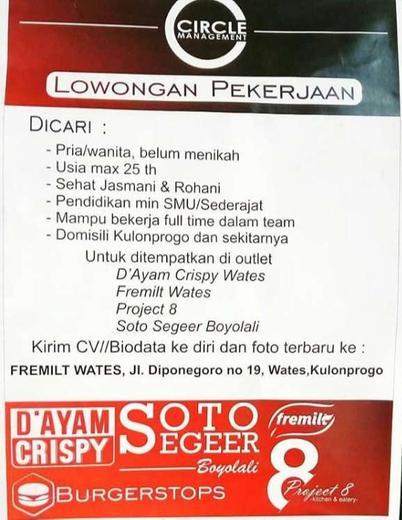 Loker Di Kulon Progo Atmago Warga Bantu Warga