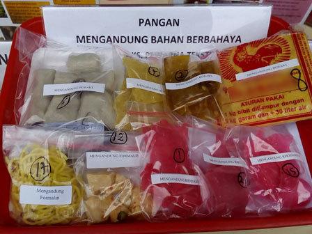 8468 medium komoditi pangan mengandung zat berbahaya masih ditemukan