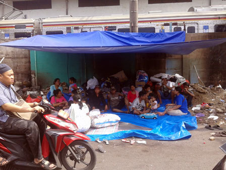 858 medium 332 jiwa korban kebakaran bukit duri masih mengungsi