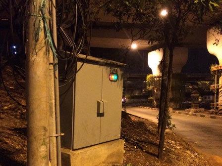 878 medium pompa underpass cawang sering padam