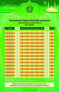 87 small imsakiyah