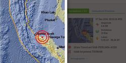 8812 small gempa aceh  rumah sakit di pidie dipenuhi korban