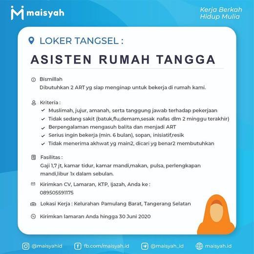 Lowongan Kerja Part Time Tangerang Ciledug