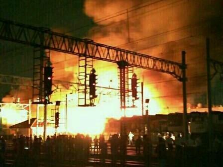 9551 medium ratusan rumah terbakar di taman sari