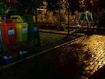 9574 medium dua taman di kecamatan kalideres minim penerangan