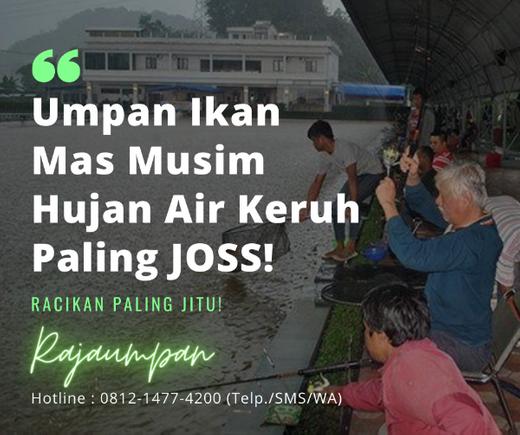 Racikan Umpan Ikan Mas Musim Hujan Air Keruh Paling Joss Essen Jitu Tasik Di Bandung Kota 1 Aug 2020 Berita Warga Atmago Warga Bantu Warga