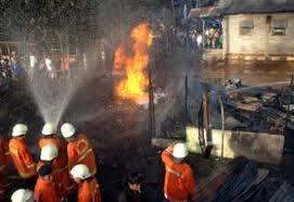 Kebakaran pasar induk kramat jati