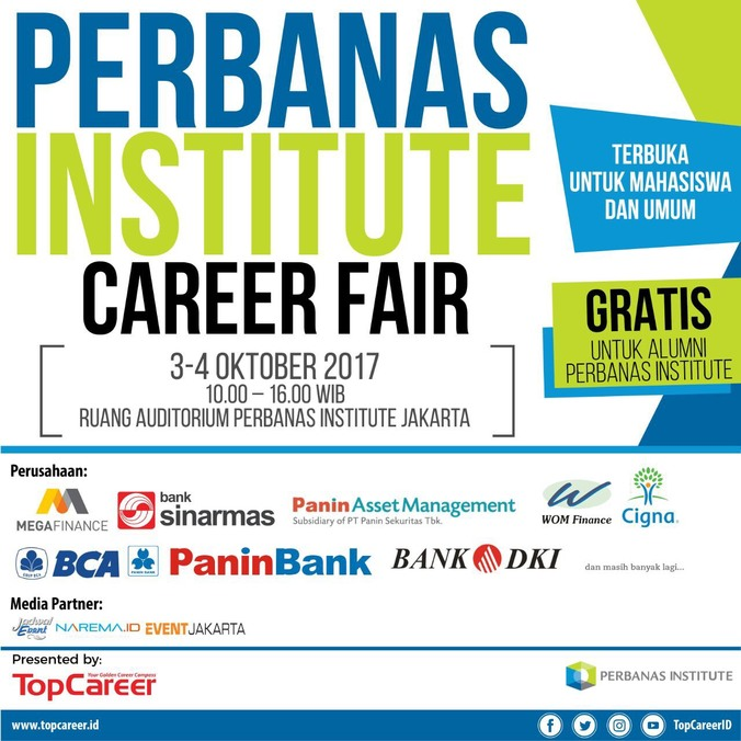Job fair perbanas institute career fair