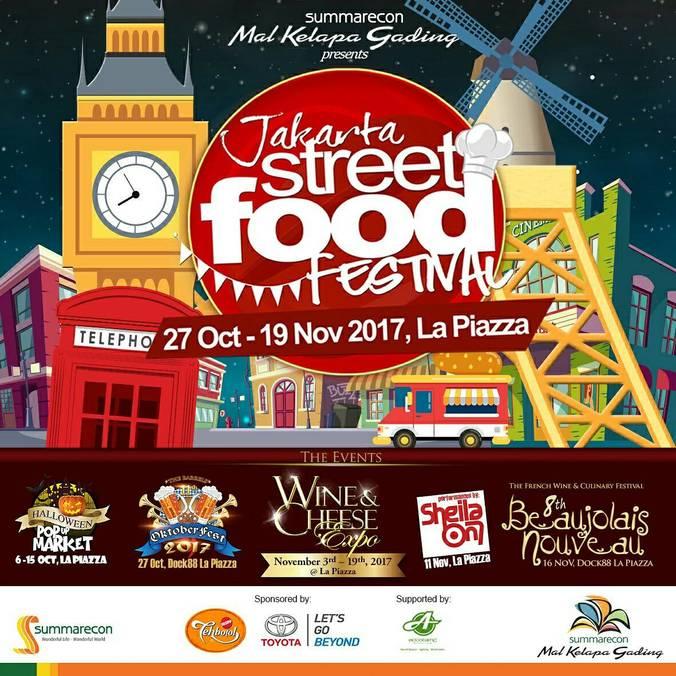 Jakarta street food festival %e2%80%93 la piazza mall kelapa gading