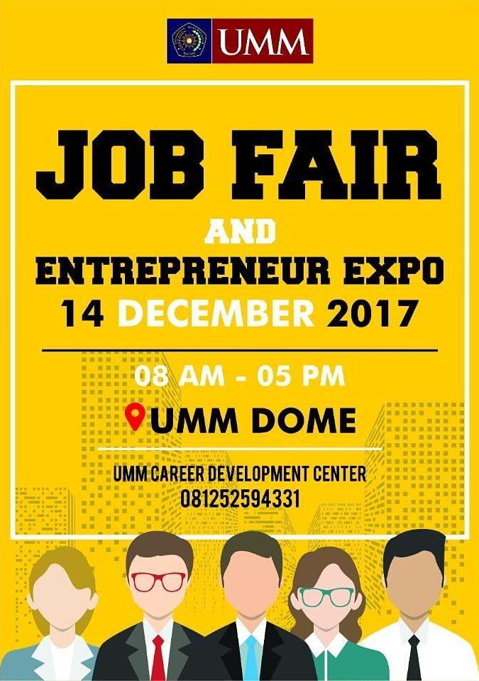Job fair and entrepreneur expo 2017 %e2%80%93 umm malang