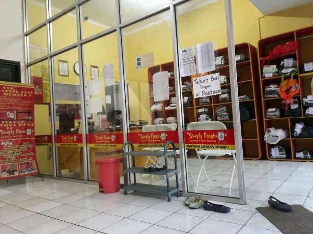 Kasir outlet laundry