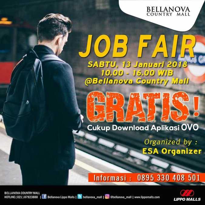 Job fair bellanova country mall bogor %e2%80%93 januari 2018