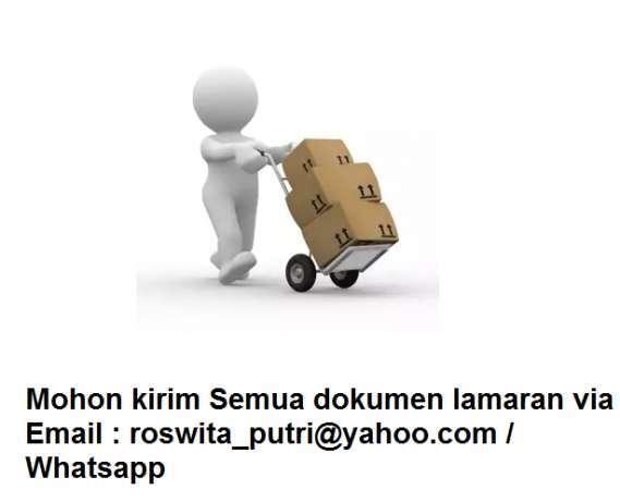 Lowongan admin bagian gudang dan admin packing pengemasan paket