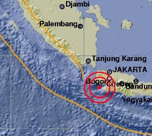 Gempa kembali terjadi di lebak banten