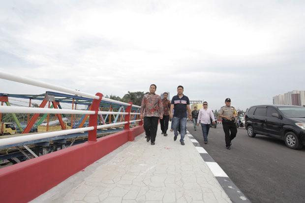 Urai kemacetan jembatan teuku umar ii diuji coba 3ui