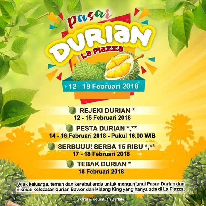 Pasar durian la piazza