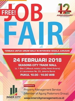 Job fair seasons city trade mall %e2%80%93 februari 2018